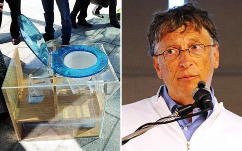 Après les logiciels, Bill Gates veut réinventer les toilettes !