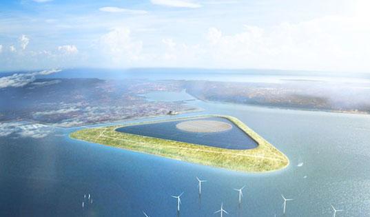 Belgique : un «atoll énergétique» pour stocker l'énergie éolienne