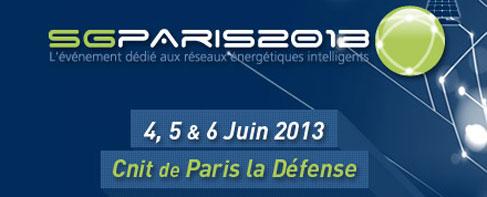 Le Congrès Smart Grids Paris 2013 s'ouvre aujourd'hui !