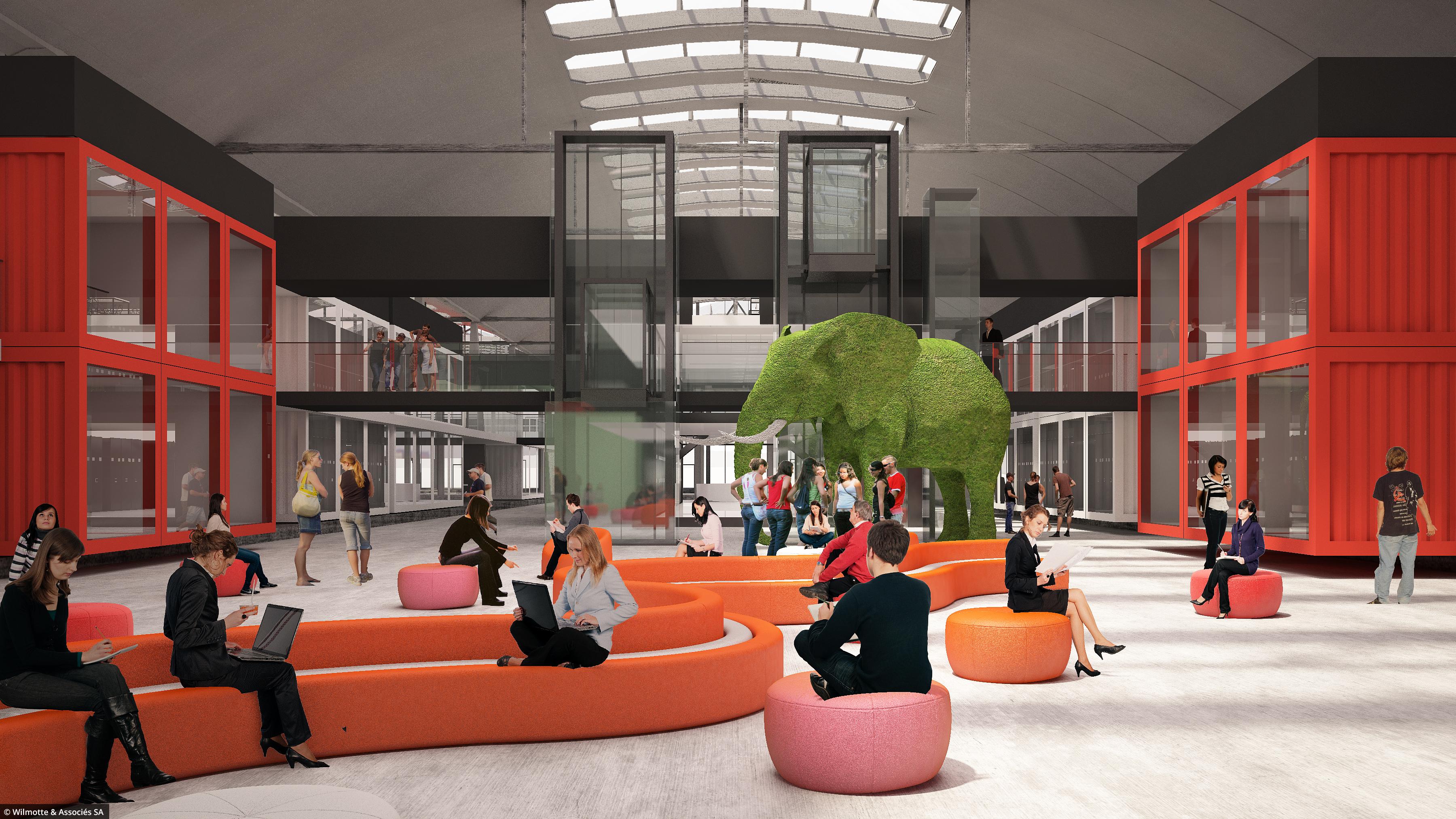 paris lance le chantier du plus grand incubateur de start. Black Bedroom Furniture Sets. Home Design Ideas