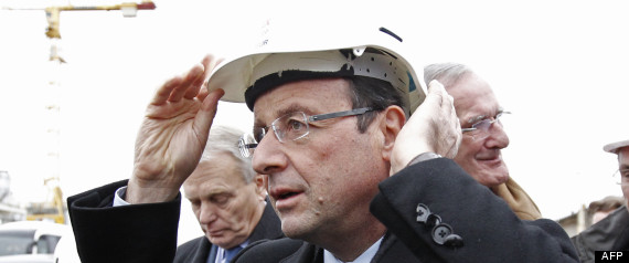 Hollande en chef de chantier