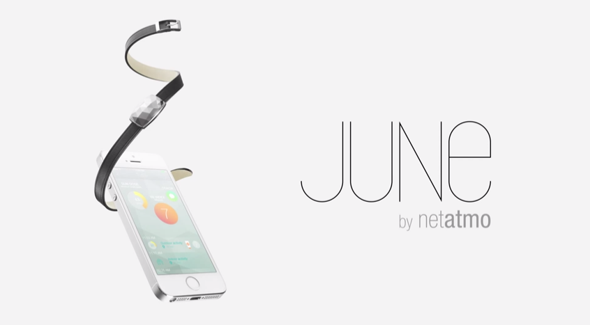 June, l'innovation de Netatmo