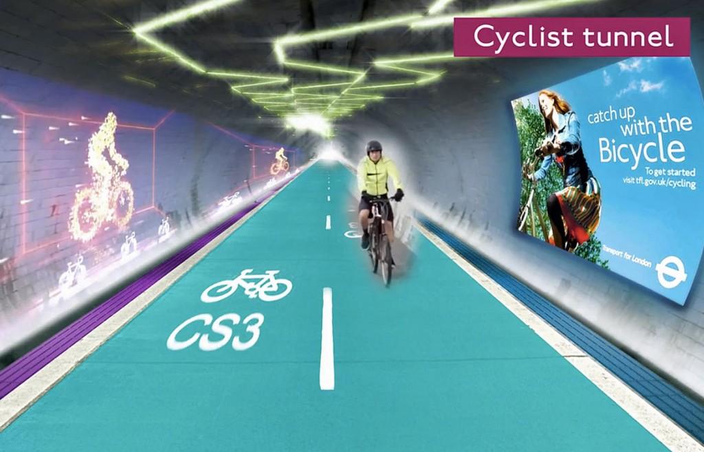 Bientôt une autoroute cyclable sous les pavés de Londres ?