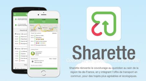 Sharette : le covoiturage urbain courtes distances