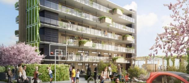 Ecoquartier à énergie positive à Göteborg