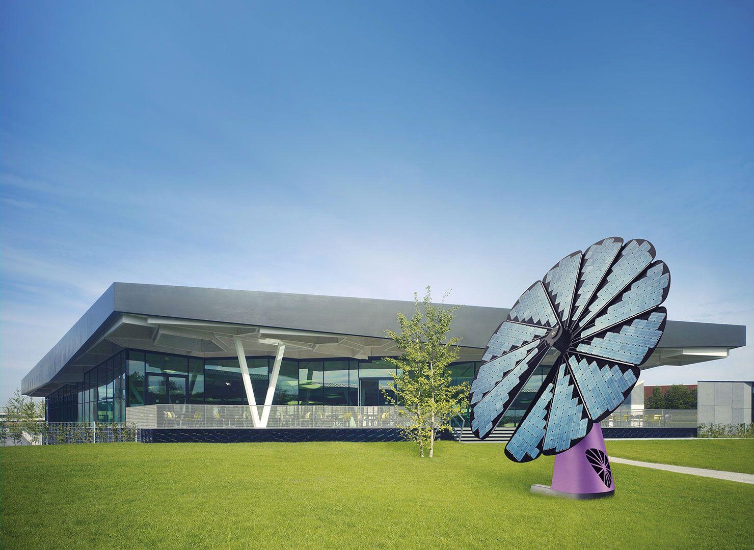 Smartflower™: le solaire en fleur