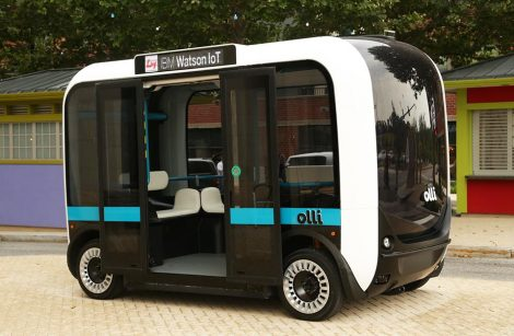 Olli, le transport intelligent d'IBM