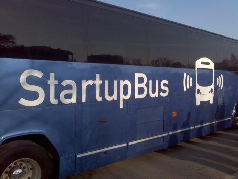 Startup bus : créer sa startup dans un bus!