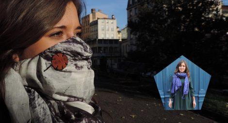 Un foulard fashion qui protège vos poumons : c'est WAIR !
