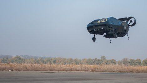 Décollage réussi pour l'ambulance volante !