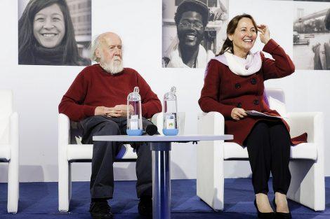 Ségolène Royal et Hubert Reeves, agence française de la biodiversité