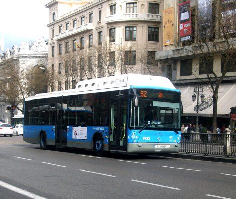 Bus Madrid - jardins sur les toits