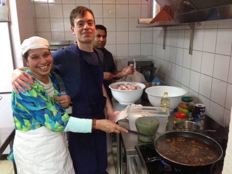 Les Cuistots migrateurs : les réfugiés aux fourneaux !