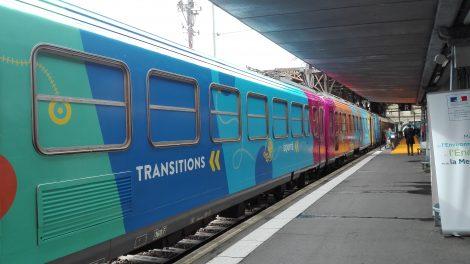 Train pour le climat Paris
