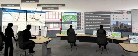 Vig'iléo centre gestion de l'eau de Lille