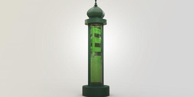 Une colonne Morris contre la pollution