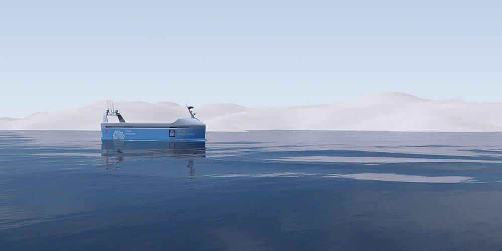 Le 1er cargo électrique et autonome