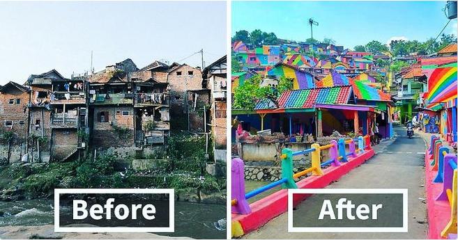Quand l'art urbain fait sortir un bidonville de la pauvreté