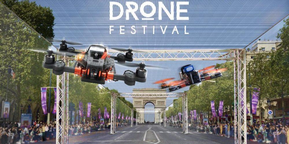 Paris sous les drones