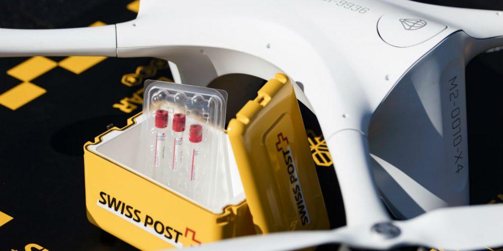 Les hôpitaux suisses testent les drones