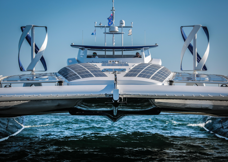 catamaran énergies renouvelables