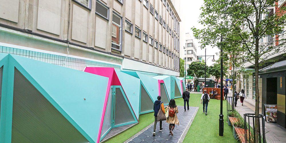 Londres : la smart street à vos pieds