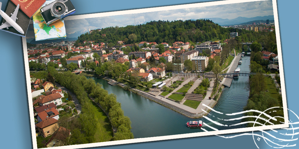 ✈ Ljubljana, la ville sans voiture