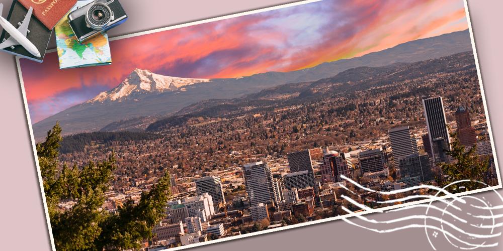 Portland et Mount Hood