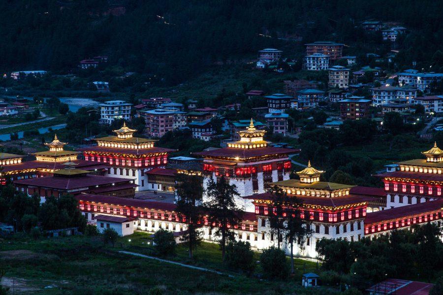Parlement bhoutanais à Thimphou