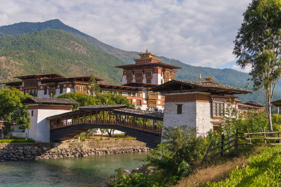 Punakha Dzong, Bhoutan