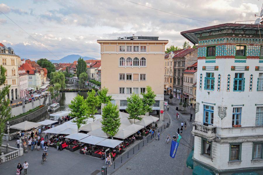 Woflova street lubiana slovénie