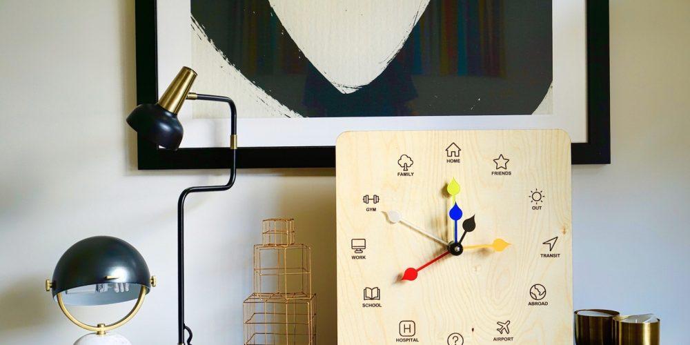 Géolocalisez vos proches avec l'Eta Clock