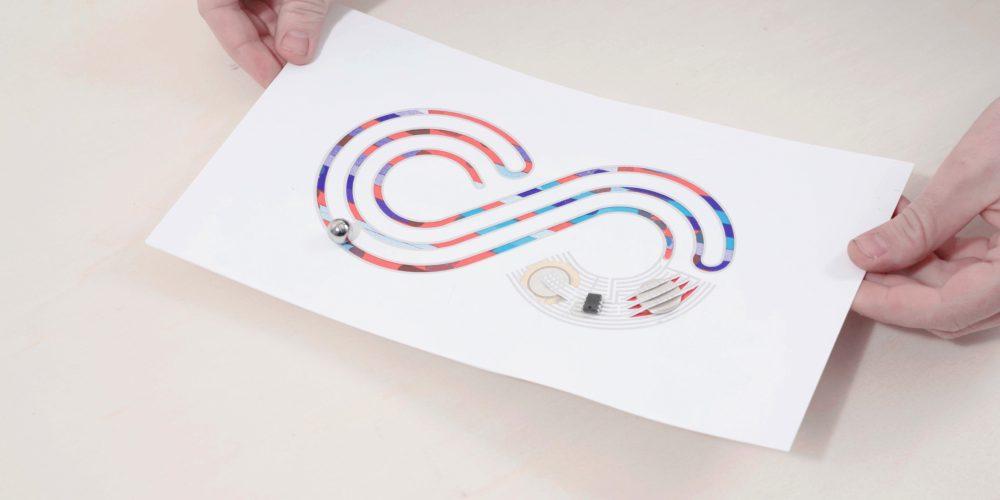Papier Machine : l'électronique en papier
