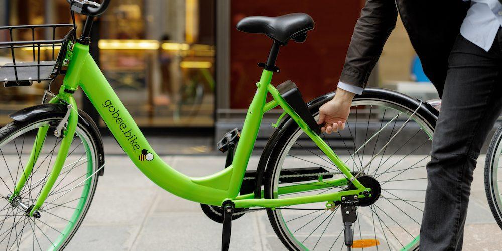 Gobee : le vélo partagé sans bornes