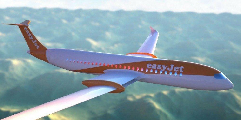 EasyJet dévoile son avion électrique