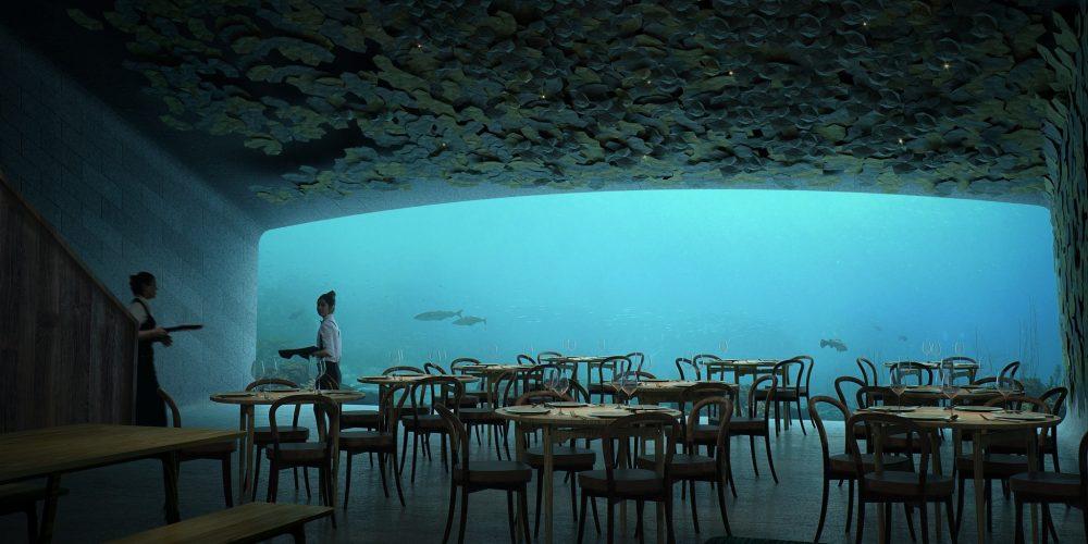 Plongez pour manger dans ce restaurant
