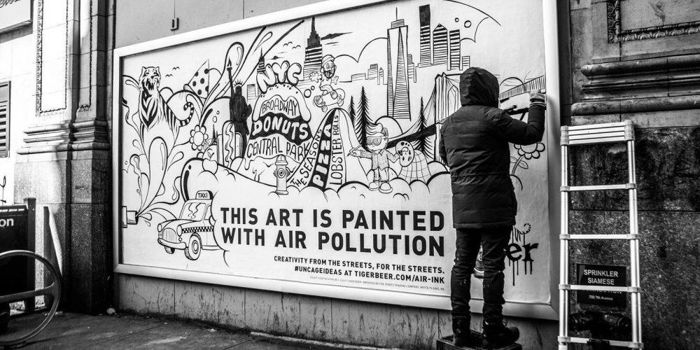 Transformer la pollution en oeuvre d'art