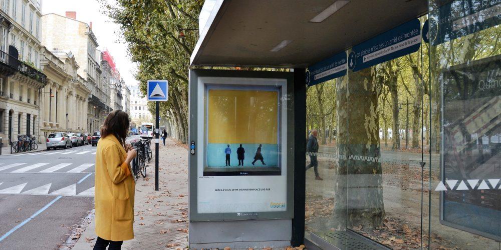 Ville durable : quand l'art remplace la pub