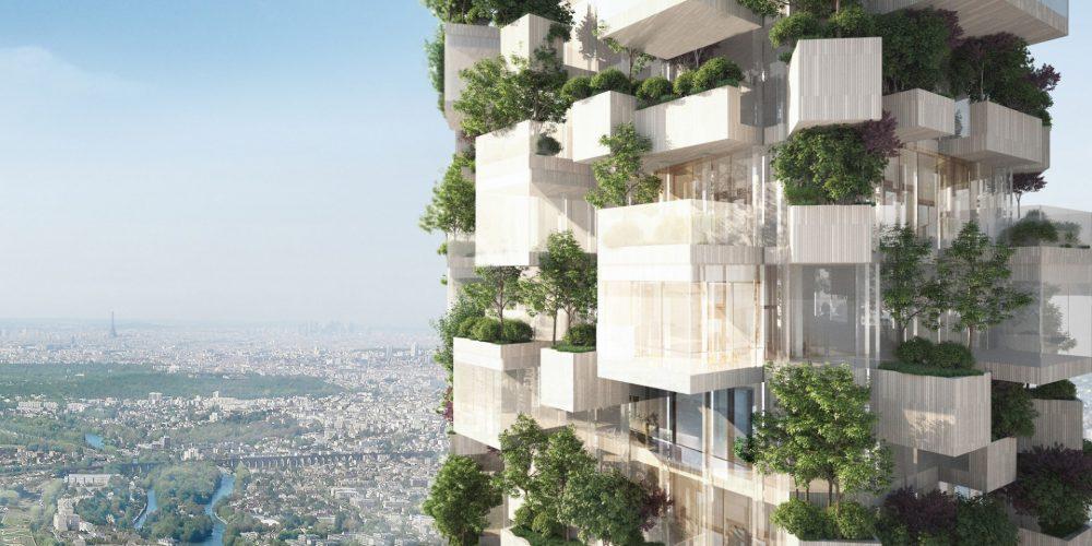 Une tour forêt poussera en Île-de-France