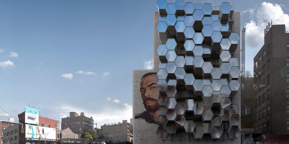 New York : des refuges pour SDF suspendus aux façades