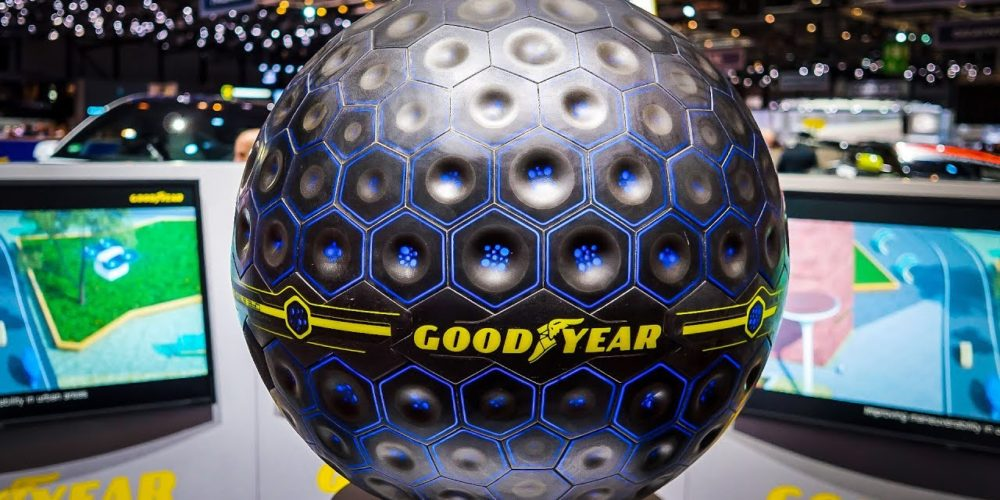Le pneu du futur sera… une sphère !