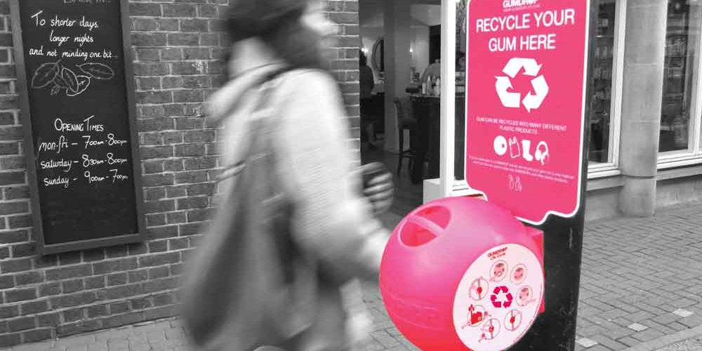 Gumdrop recycle vos chewing-gums