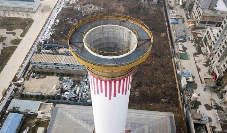 Chine : un purificateur d'air géant