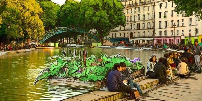 Paris : des radeaux végétalisés pour dépolluer la Seine