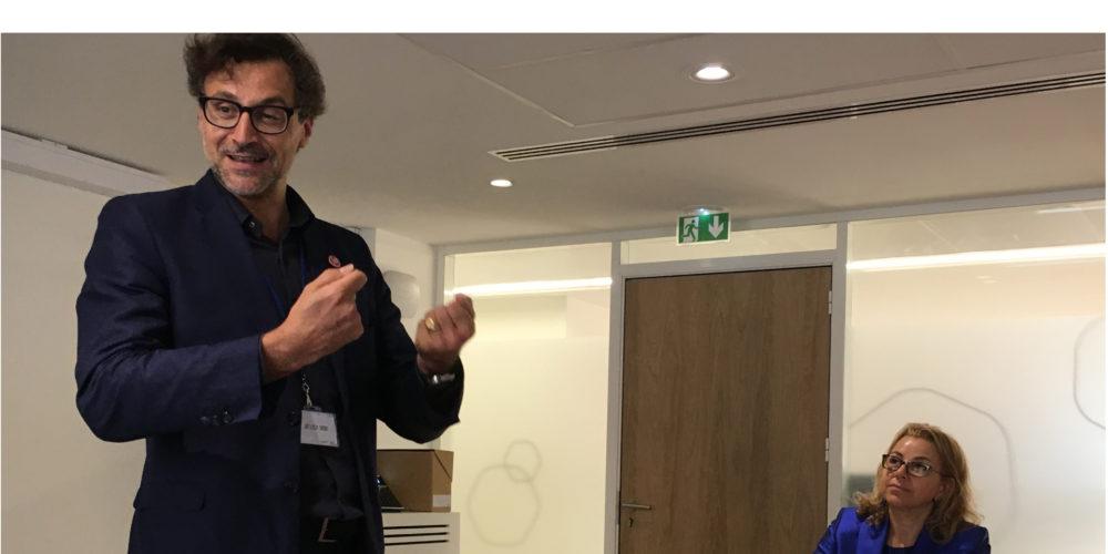 Emery Jacquillat, le PDG du Made-in-France pitche pour gagner le Trophée des Défis RSE
