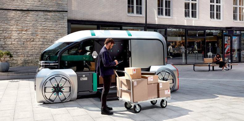 EZ-Pro : Renault présente la livraison du futur