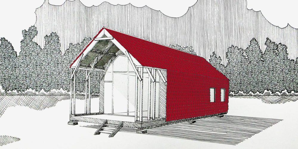 Des Français veulent créer une maison biodégradable