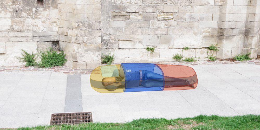 Une capsule de sommeil isotherme pour les SDF
