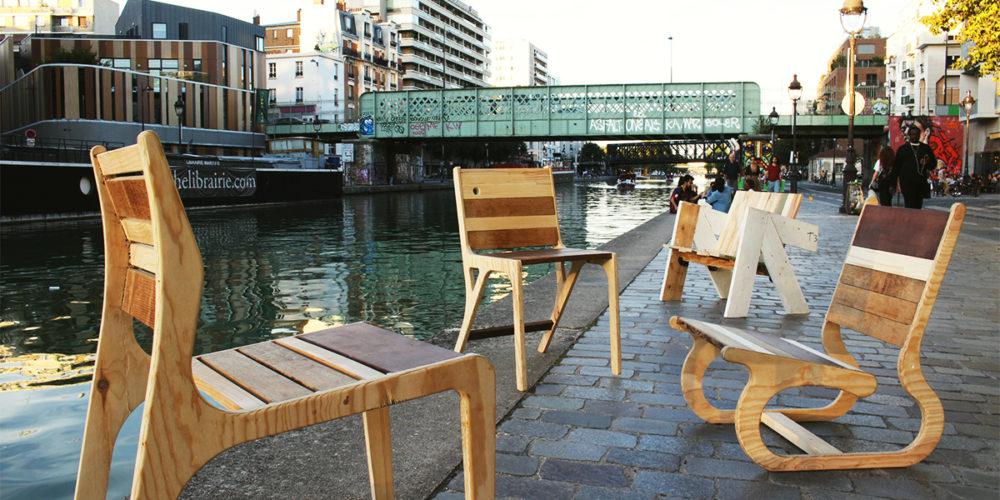 Pimp your waste : des meubles uniques en bois recyclé