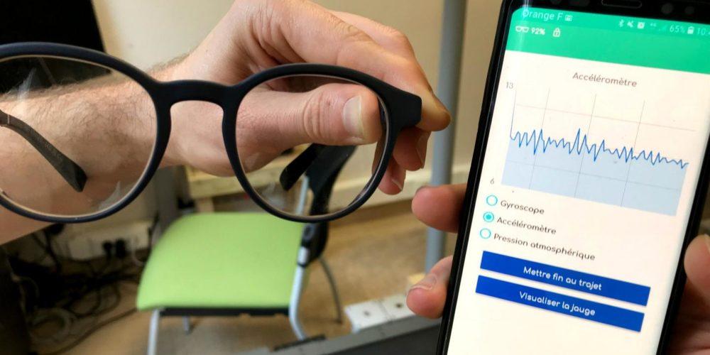 Des lunettes connectées pour éviter les chutes des seniors